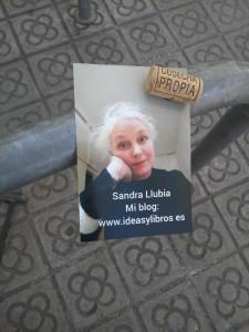 Sandra entre rajoles